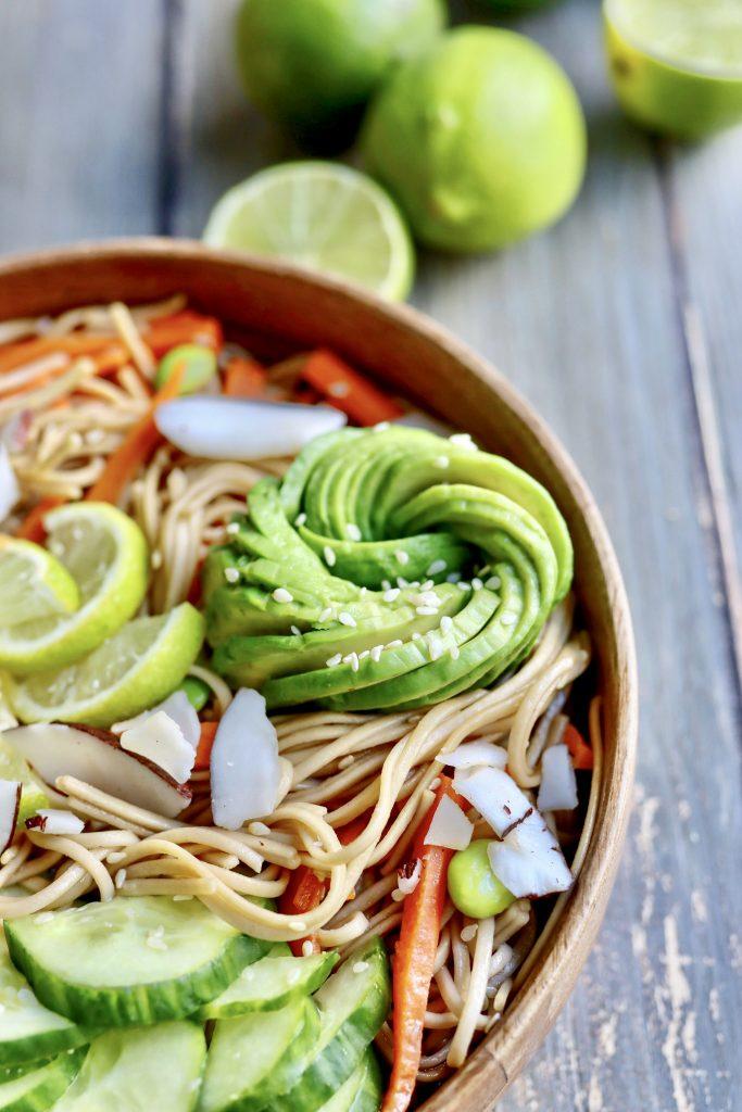 wok de nouilles